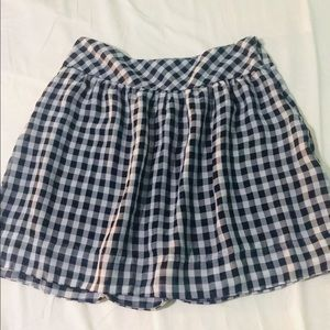 GAP Checkered Skirt